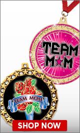 Team Mom Medals