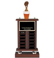 Fantasy Football Beer Perpetual Trophy