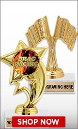 Drag Racing Trophies