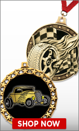 Hot Rod Medals