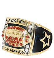 Football Gold Fantasy Ring