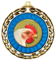 "2 1/2"" 4-H Silo Wreath Medal"