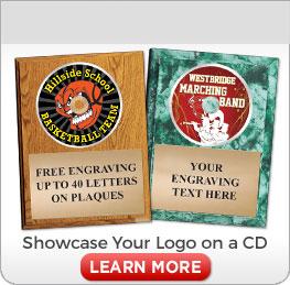 Custom CD Plaques