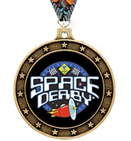 Universe Star Space Derby™ Insert Medal