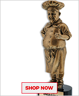 Chef Sculptures