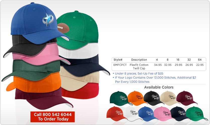 Custom Embroidered Hats And Caps