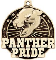 "2"" 3D Panther Pride Medal"