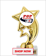 Pop Warner Cheer Trophies