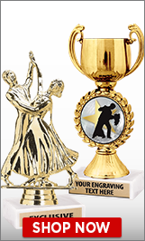 Ballroom Dance Trophies