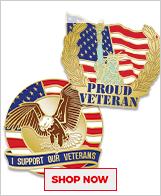 Veterans Day Pins
