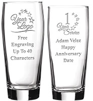 Noble Hops Beer Glasses