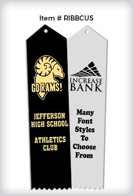 Custom Logo Ribbons