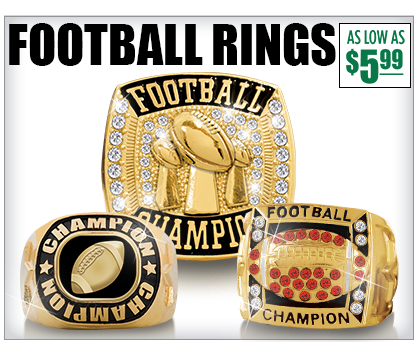 Football Champion Rings