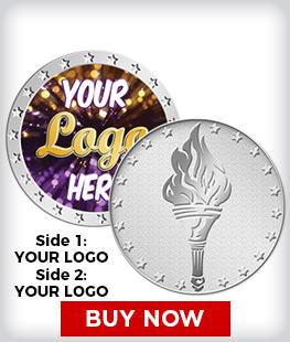 Custom Torch Silver Insert Coins