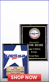USSSA Slow Pitch Plaques