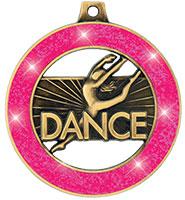 "2"" Neon Dance Rimz Medal"