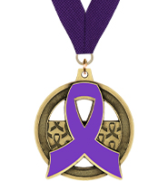 Awareness Ribbon Insert Medal