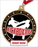 Kickboxing Medals
