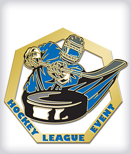 Custom Soft Enamel Hockey Pins