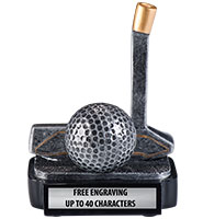 Golf Putter Trophy Cover