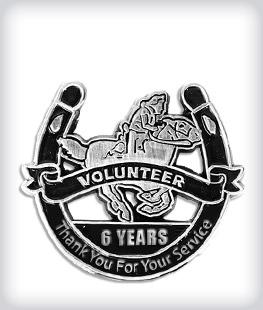 Custom Years of Service Die Struck Pins
