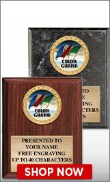 Color Guard Plaques