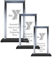 YMCA Billboard Skyline Acrylics