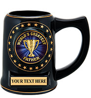 Black Star Insert Mug