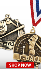 T-Ball Medals