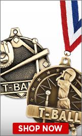 T-Ball Medals