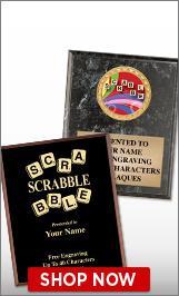 Scrabble Plaques