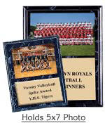 Black Marble Team Photo Plaque