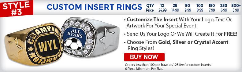 Custom Insert Rings
