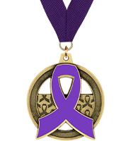 Awareness Ribbon Insert Medal
