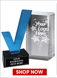 Custom Logo Crystal