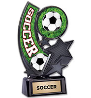 U-Sports Soccer Onyx Icicle Trophy