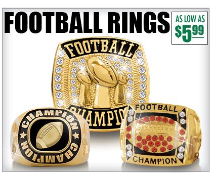 Football Champion Rings
