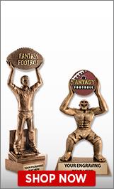 Fantasy Football Sculptures