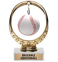 Baseball Squishball Trophy