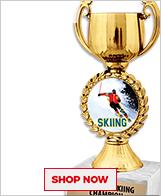 Alpine Ski Racing Trophies