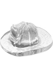 Fire Hat Acrylic Embedment