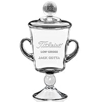 Prevalent Golf Crystal Cup