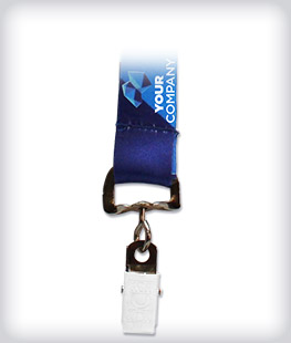 Custom Sublimated Clip Lanyard