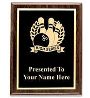 U-Sports Classic Etched Wood Plaques