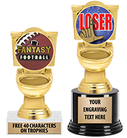 For The Loser Toilet Trophy