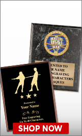 Tug Of War Plaques