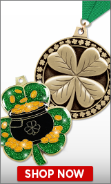 St. Patrick's Day Medals