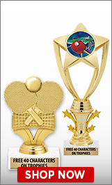 Ping Pong Trophies