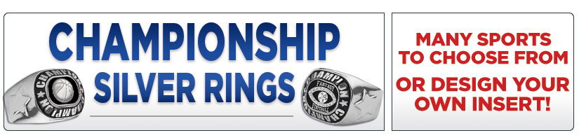 Silver Championship Rings