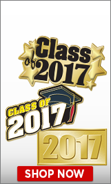 Class Of 2017 Pins